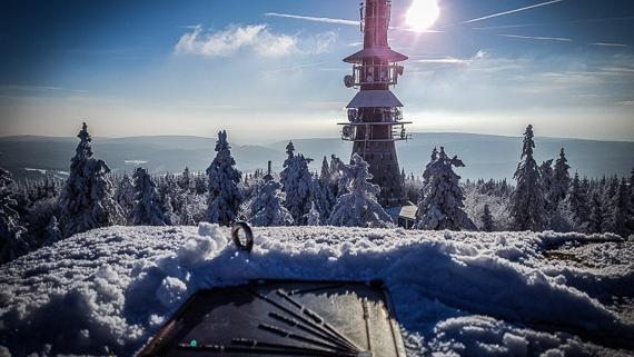 Ochsenkopf Gipfel