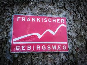 Wegweiser Fränkischer Gebirgsweg