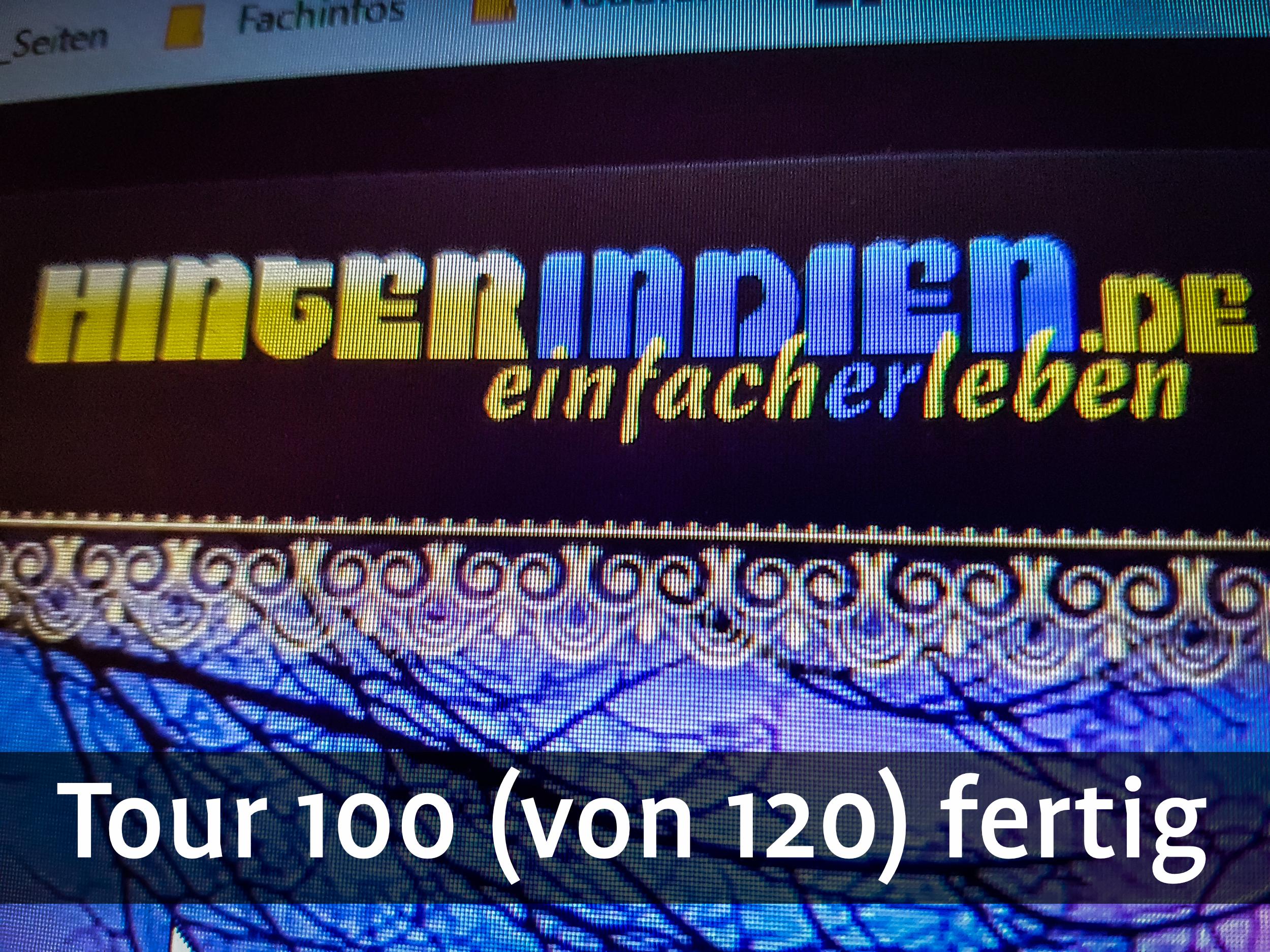 100 von 120 Touren