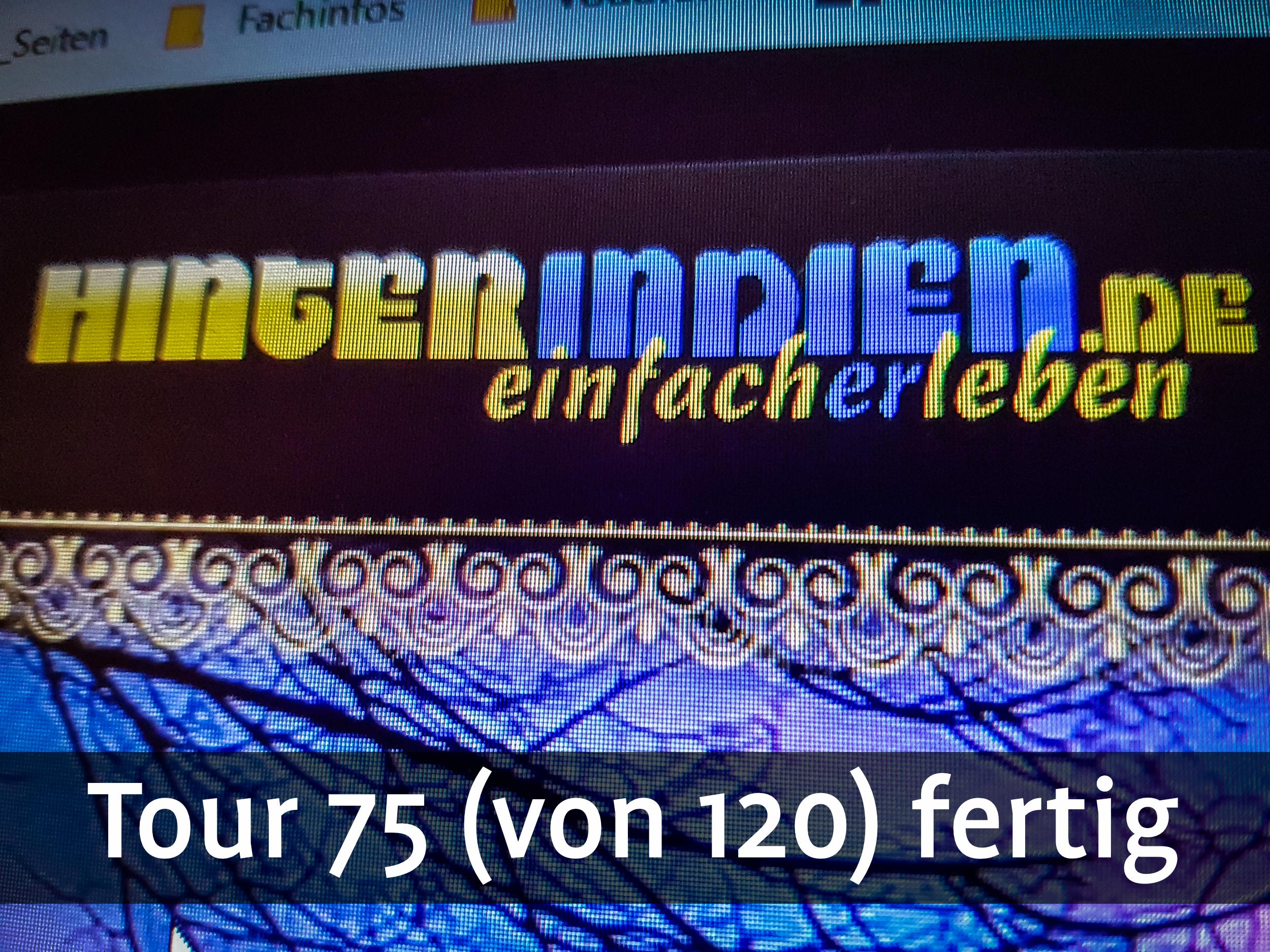 75 von 120 Touren