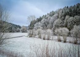 Schnee Rückkehr im März 2021