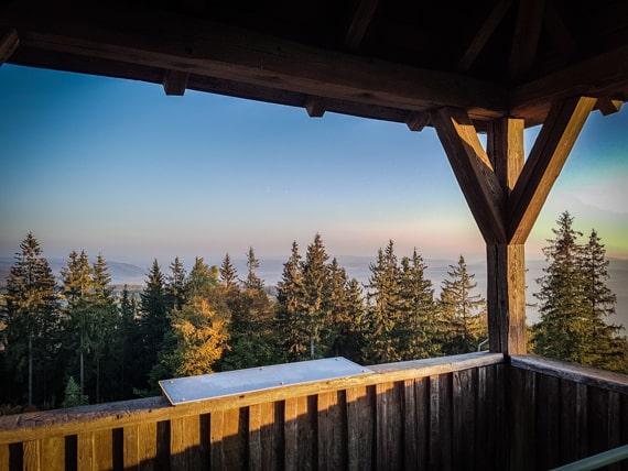 Blick vom Radspitze-Turm