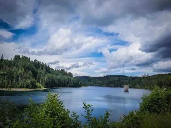 Frankenwald wandern Fränkischer Fjord