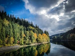 Herbst-Farben am Fränkischen Fjord