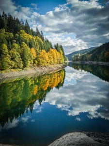 Herbst am Fränkischen Fjord - Ködeltalsperre