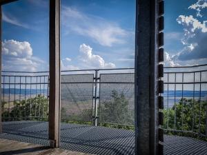 Blick vom Aussichtsturm Schwedenschanze