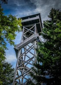 Oberpfalz-Turm im Steinwald auf der Platte