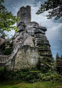 Ruine Weißenstein im Steinwald
