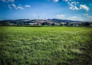 Windkraft über dem weiten Itzgrund
