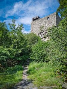 Unterhalb der Ruine Epprechtstein