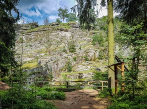 Albertsbruch Steinbruch-Wanderweg