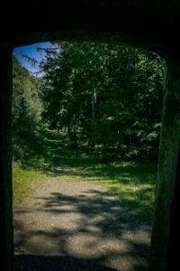Blick aus der Turm-Tür