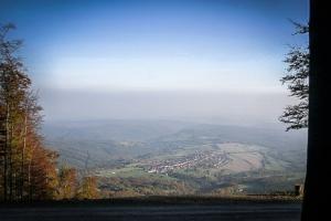 Grandioser Ausblick über Sandberg in Richtung Süden