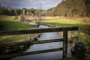 Brücke über die Lochau