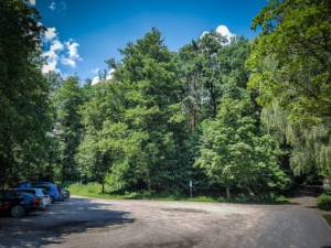 Startpunkt Parkplatz Schluss Thurn Tour