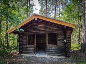 P. Frank-Hütte am Wegrand