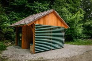 Praktische Schutzhütte