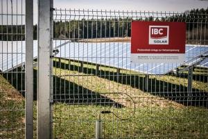 Jura Solarpark von IBC SOLAR