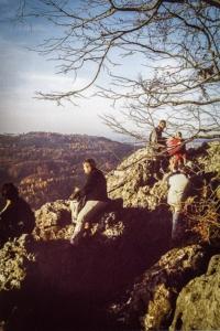 Auf dem Glatzenstein bei Schnaittach Kersbach