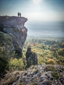 Die Felsen des Staffelbergs
