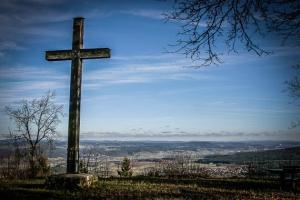 Gipfelkreuz Großer Kordigast