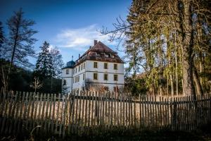 Wieder am Schloss Giechkröttendorf