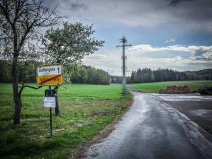 Ortsausgang Wildenfels richtung Großengsee