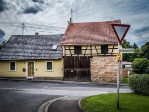 In Rudendorf rechts abbiegen