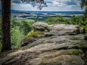 Blick vom Veitenstein auf dem Lußberg