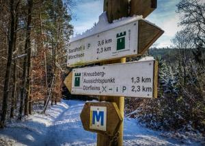 Mainwanderweg-Wegweiser