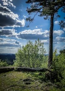 Aussicht Burgruine Hollenberg