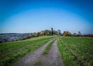 Höhenweg zur Wallburg Eltmann