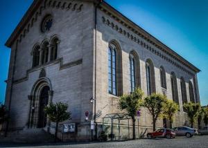 Die markante Kirche von Eltmann