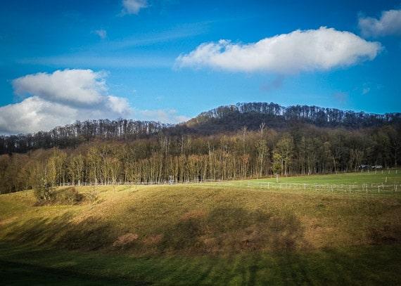 Der Zabelstein im Steigerwald
