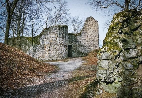 Wandern Obertrubach Leienfels