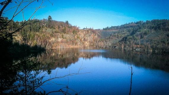 See bei Lehesten Thüringen