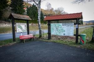 Wanderparkplatz Egloffstein mit Übersichtskarten