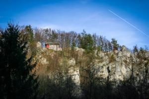 Wandern Egloffstein Schlossberg