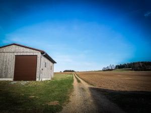 Der Weg aus Steinbach hinaus