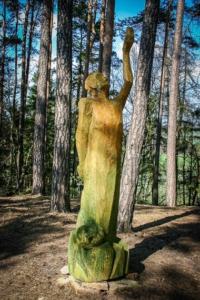 Skulptur Nr. 8 Versuchung Jesu