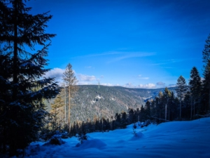 Blick auf andere Berge