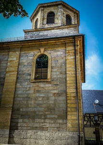 Achteckiger Kirchturm von Elbersberg
