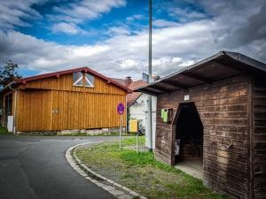 Im Ort Stein bei Bad Berneck