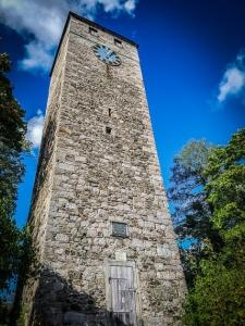 Schlossturm über Bad Berneck