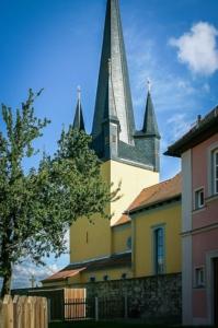 Markanter Kirchturm von Ludwag