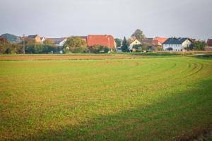 Blick auf das Dorf Geiselsberg