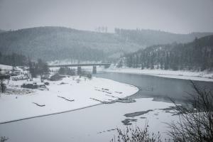 Der Thüringer Fjord bei Saaldorf
