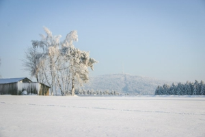 Blick von Wülfersreuth zum Ochsenkopf