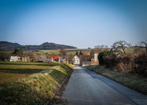 Wandern in den Ort Steindl