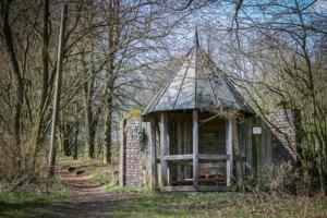 Holzpavillon am Waldrand Bad Rodach